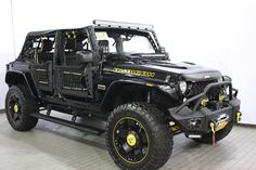 """""""Stardust Wrangler"""" from Eastchester Customs #jeep #customjeep"""