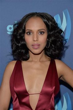 Kerry Washington attends the 26th Annual GLAAD Media Awards at the Beverly Hilton Hotel in Beverly Hills, Calif., on March 21, 2015.