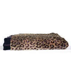 Luxe™ Leopard Throw