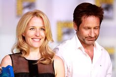 The popular 1993–2002 TV series The X-Files depicted the fictional FBI Special Agents Dana Scully (Gillian Anderson) and Fox Mulder (David Duchovny) who investigated paranormal phenomena.