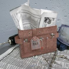 Mel Stampz: TOOL BELT BOX or CARD: for Father's Day or handy people (template & tutorial)