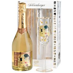 Schlumberger Cuvée Klimt with Glass - From Austria