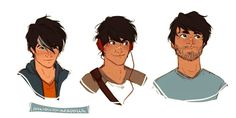from moody teen to scruffy adult <3 | art by anxiouspineapples