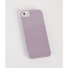 Vineyard Whale iPhone 5 Case ($38) ❤ liked on Polyvore featuring accessories and tech accessories