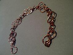 Copper celtic knot bracelet