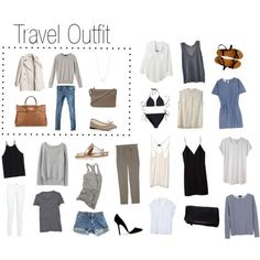"""""""A Sunny Travel Destination (+ Travel Outfit)"""" by keelyhenesey on Polyvore"""