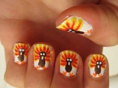 Turkey Nail Art