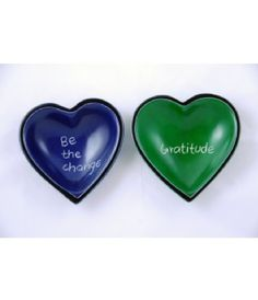 These heart shaped bowls are a fantastic way to support social good products. Hold your change, fruit, food in these cute bowls and share in social good! #fairtrade #socent #socialbusiness #changemakers #crs #socialenterprise #neweconomy #socialgood #cause #giveback #dogood #phatrice #phatricegoods