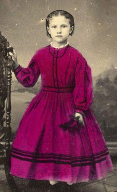 CDV Card Vintage Photo Little Girl Gouverneur NY Revenue Stamp | eBay