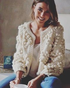 Top Trend 81 Knitting Model Baby and Women Cardigan Vest Fiber Blanket Model Vest Pattern, Casual Sweaters, Baby Knitting Patterns, Sweater Fashion, Cardigans For Women, Pattern Fashion, Knitwear, To My Daughter, Womens Fashion