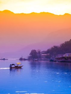 Dal lake, Kashmir, India