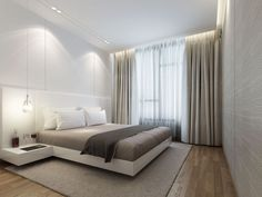 ONG&ONG offers a comprehensive and integrated approach to design that encompasses urban planning, architecture, landscape, interior, lighting and brand engagement. Luxury Bedroom Design, Home Room Design, Master Bedroom Design, Home Decor Bedroom, Home Interior Design, Room Interior, Suites, Minimalist Bedroom, Luxurious Bedrooms