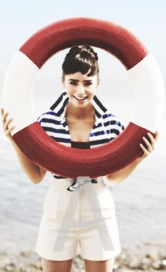 lilly collins as audrey hepburn so vintage