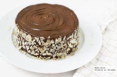Tarta de mascarpone y nutella