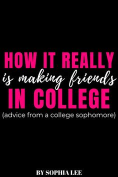 As the first to go off to college in my family, I really didn't know what to expect and how to make friends in college. These tips and advice saved my life the first few weeks!! Make Friends In College, Boho Dorm Room, College Life Hacks, Man Room, College Dorm Rooms, Save My Life, Advice, Student, Tips