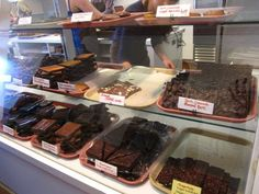 Papa Bear's Chocolate Haus - LOVE their chocolate covered Marzipan