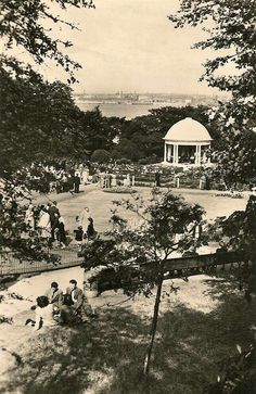 The Bandstand at Vale Park Republic Of Ireland, The Republic, New Brighton, Kingdom Of Great Britain, Where The Heart Is, Northern Ireland, Vintage Postcards, Old Photos, Childhood Memories