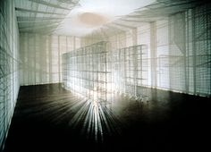 Interplay of shadows: Mona Hatoum - #light sentence #art