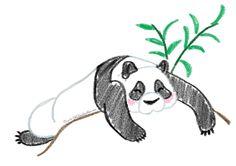 Lazy Panda by Tella-in-SA.deviantart.com on @deviantART