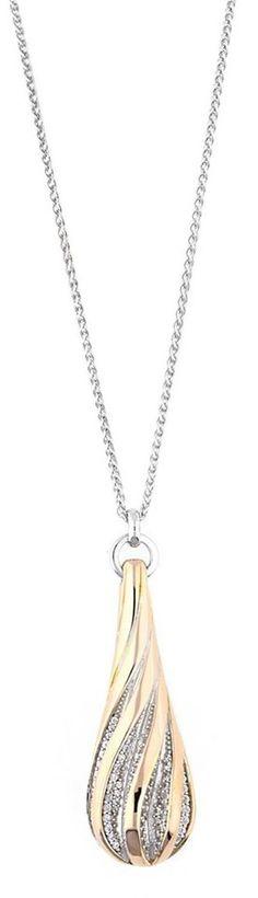 ESPRIT Charm-Kette »Melina Glam ELNL92944A800« für 194,94€. Stylishe Gliederkette für Damen der Marke Esprit, Aus feinem 925 Sterlingsilber gefertigt bei OTTO