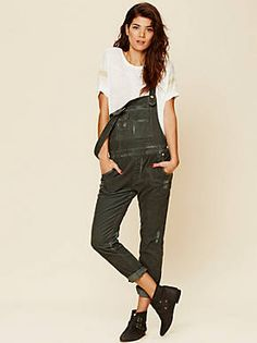 Free People Through The Woods Corduroy Overall, $98.00