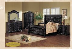 Rosemary King Headboard - ROSEMARY KING FOOTBOARD ROSEMARY KING RAILS