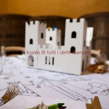 Centrotavola bimbi matrimonio green. Wedding designer & planner Monia Re - www.moniare.com   Organizzazione e pianificazione Kairòs Eventi -www.kairoseventi.it   Foto Claudio Bonicco
