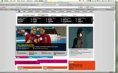 308: The overall coverage continues to focus on national victories in sports Mexico performs well in. The homepage is dominated by Mexican Olympic stories mainly in the fields of football, swimming and archery.