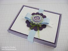 Verpackung Stampin Up Box Gift Idea