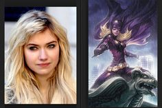 Imogen Poots as Spoiler or Batgirl/ Stephanie Brown  Imogen looks like Stephanie and looks like she can play a troubled teen who's dad was a criminal and wants to help people but not following the rules Imogen Poots has been in Need for Speed , Fright Night and That Awkward Moment