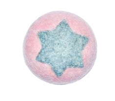 Witty&White hand felted dog's ball with star. Felt Dogs, Stars, Sterne, Star