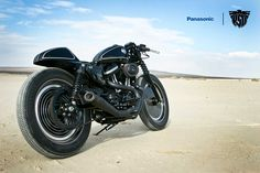 Not that into harley's, but this 883 is done right - Technics Sporty