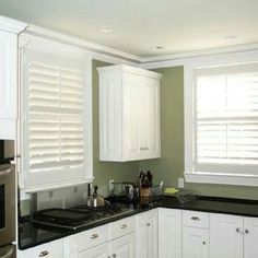 White Kitchen Green Walls kitchens cream cabinets green walls | 30 phenomenal painted