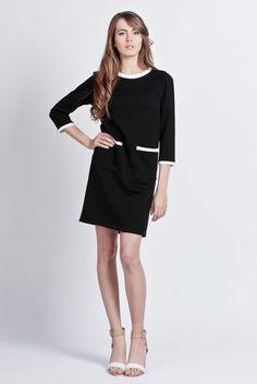 Kleider - Minimalist schickes Kleid - ein Designerstück von Lanti-polish-urban-fashion bei DaWanda