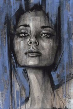 Non Nude OIL & ACRYLIC CANVAS Painting ORIGINAL Portrait By L Dolan 16x24 inches