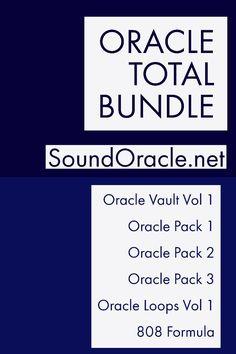 The #EverythingBundle is now #OracleTotalBundle (#SoundLibrary: #808, #OraclePack Series, #OracleLoop  the #OracleVault):https://goo.gl/Rnvp4J