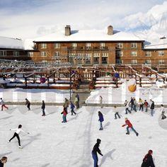 Sun Valley Ice Skating Rink - Ketchum, ID  #Yuggler #KidsActivities #IceSkating