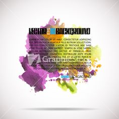 Download Watercolor Background. Vector Illustration. Stock Image and other stock images, photos, icons, vectors, backgrounds, textures and more.