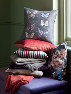 Want the butterfly design pillow