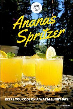Ananas Spritzer | paleokeittio.fi