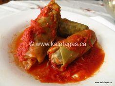 Stuffed Cabbage Rolls-Kalofagas