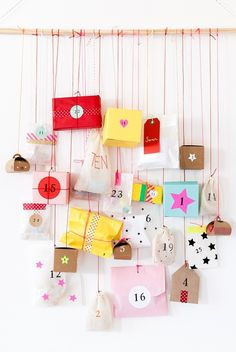 Count Down to Christmas With 12 DIY Advent Calendars