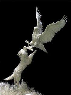Stunning Paper Sculptures (63 pics) Allen and Patty Eckman