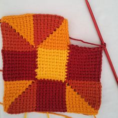10 stitch tunisian blanket