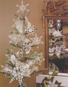 35 Snowflakes Crochet Patterns