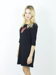 abito- bacio - pallettes - t-shirt -abbigliamentodonna - abbigliamento - vendita