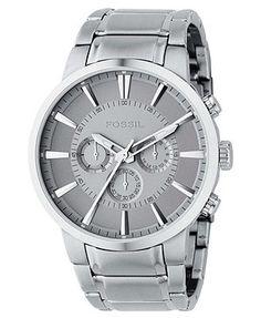 fendi watch men s stainless steel logo bracelet f605011000 fossil watch men s chronograph stainless steel bracelet fs4359
