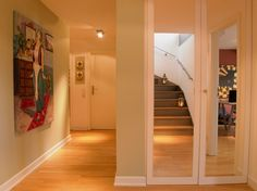 Staircase3 Daring Penthouse in The Exquisite City of Cologne Incorporating a Strong Personality