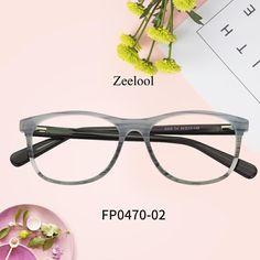 9cc7e7774bb Charlene Rectangle Green-Floral Glasses FP0470-02. Zeelool Optical