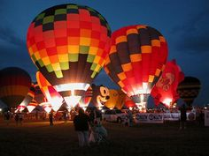 Great Texas Balloon Race, Longview Tx